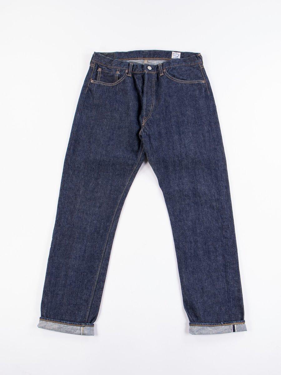 Indigo One Wash 105 Standard 5 Pocket Jean
