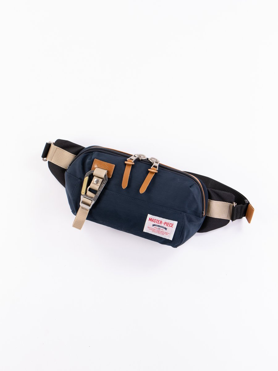 Navy 02346 Link Waist Bag