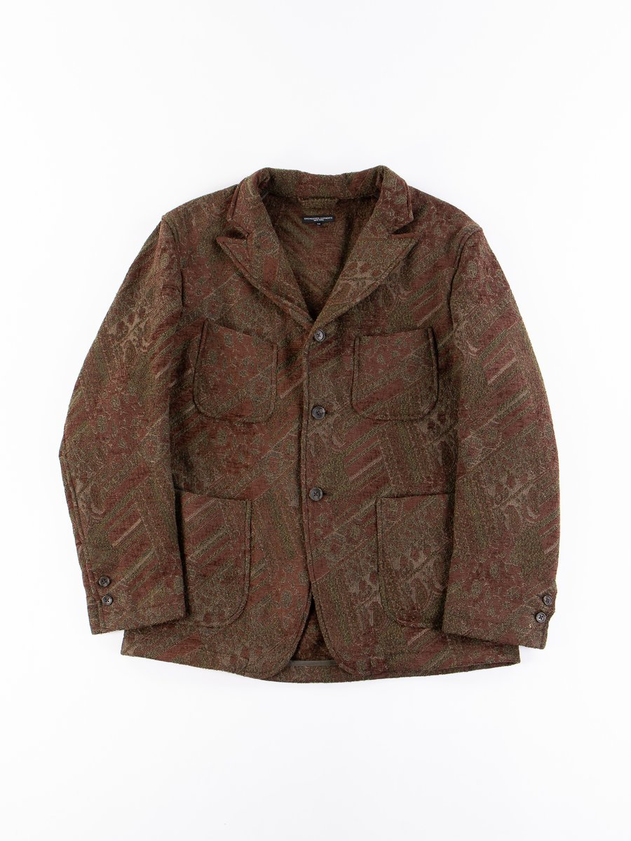 Olive/Brown Chenille NB Jacket
