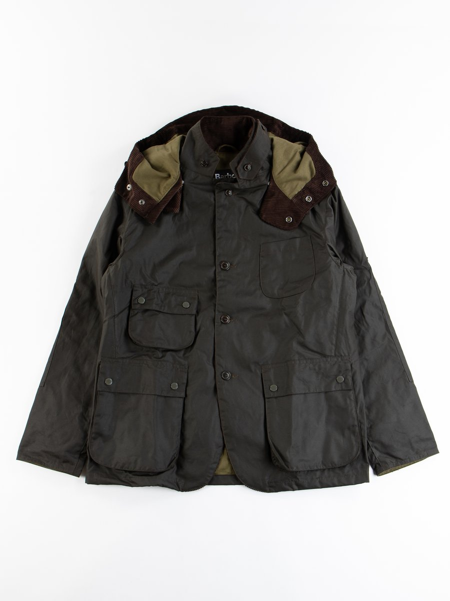 Olive Upland Wax Jacket