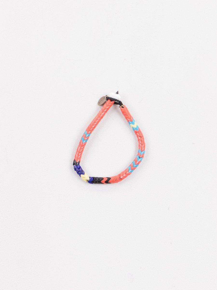 Mikia X United Arrows Orange Snake Bead Bracelet