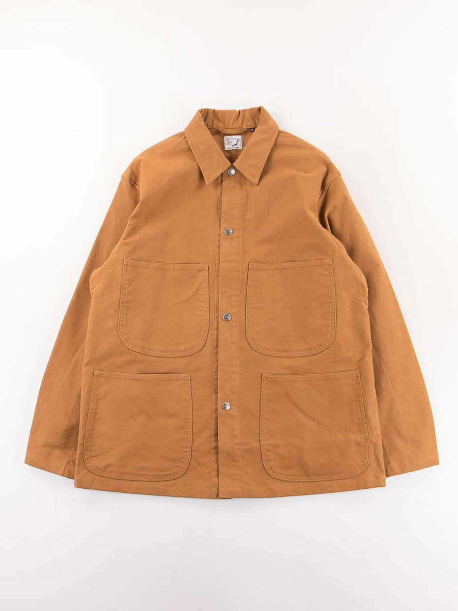 Camel Moleskin Utility Coverall