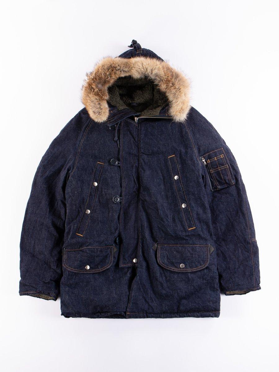 One Wash Indigo Denim N3–B Type 2150 Jacket