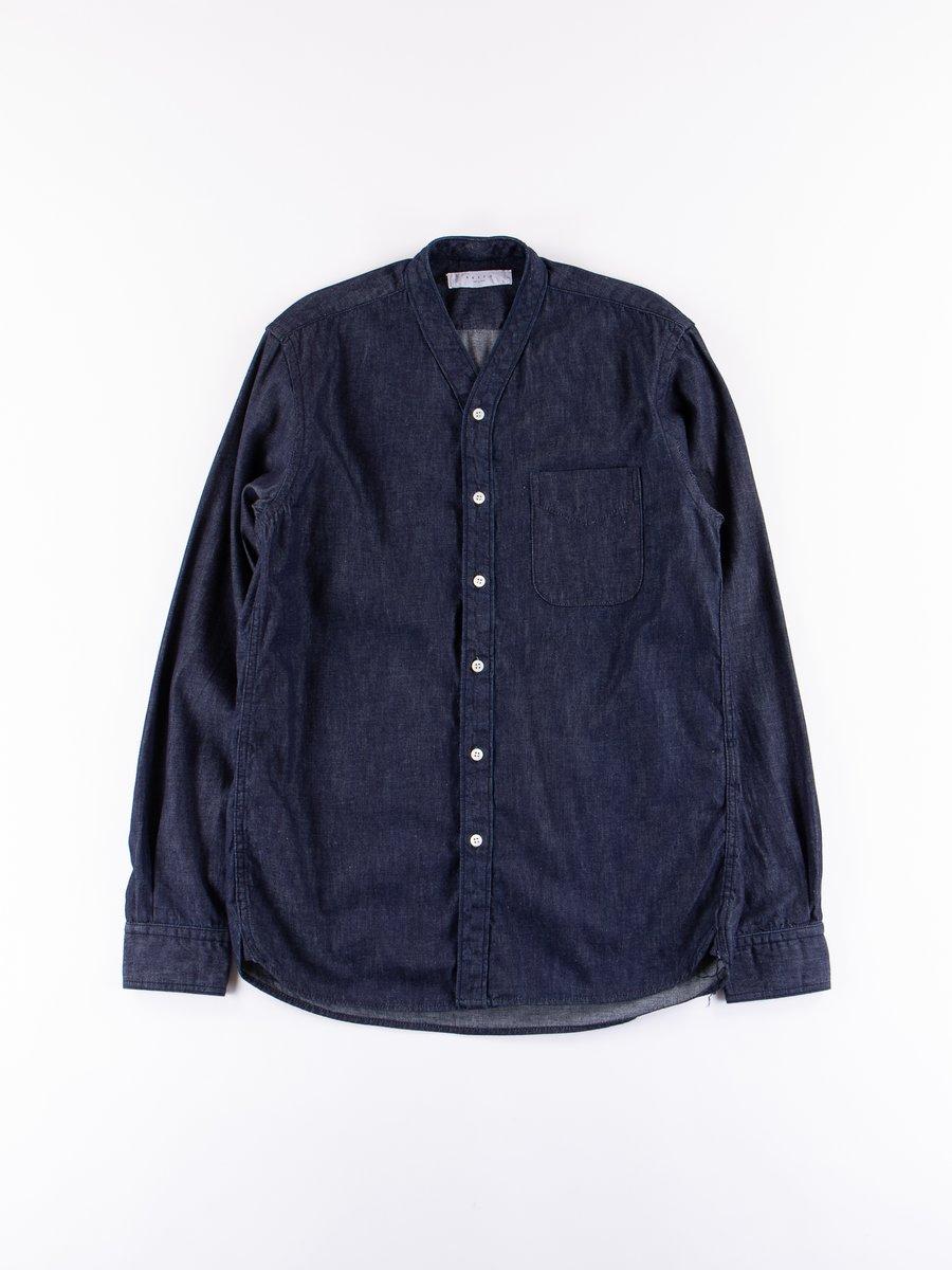 Indigo Flora Shirt