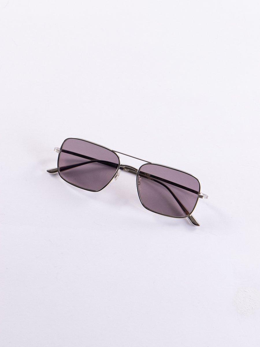 Silver/Purple Victory LA Sunglasses