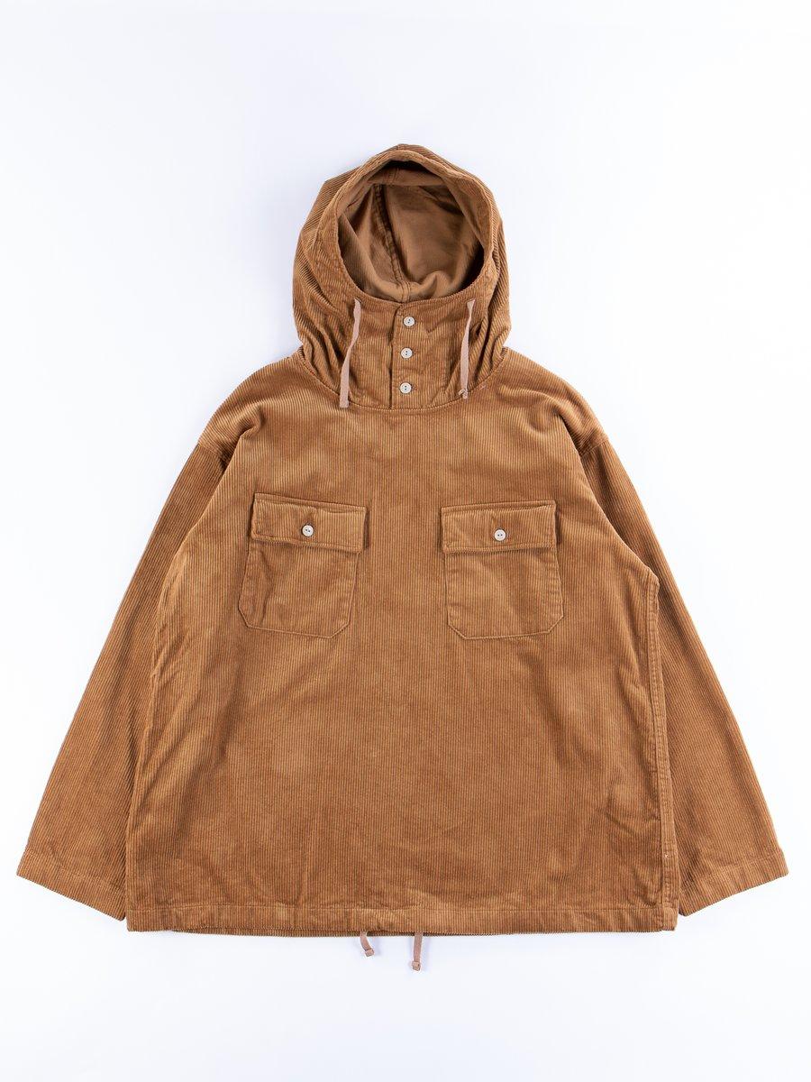 Chestnut Cotton 8W Corduroy Cagoule Shirt