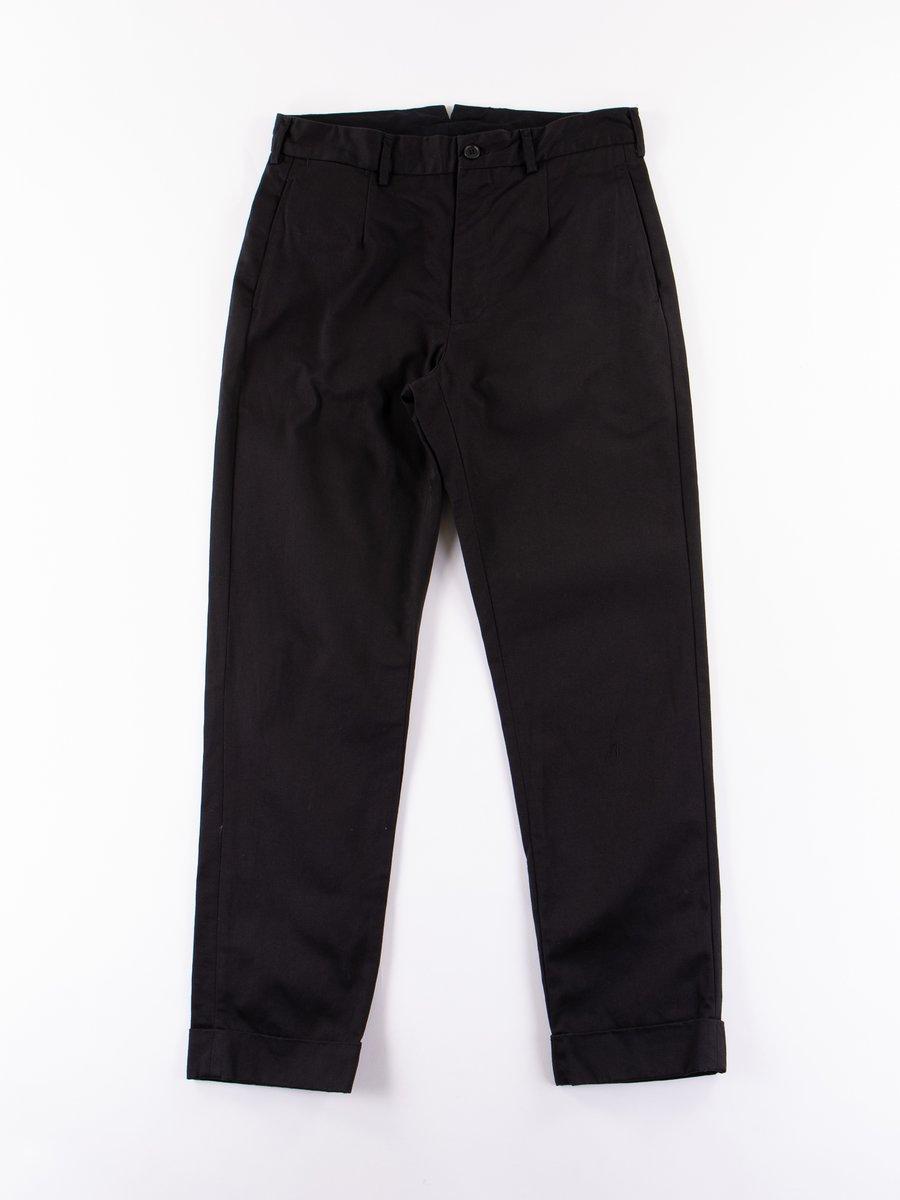 Black Chino Twill Andover Pant