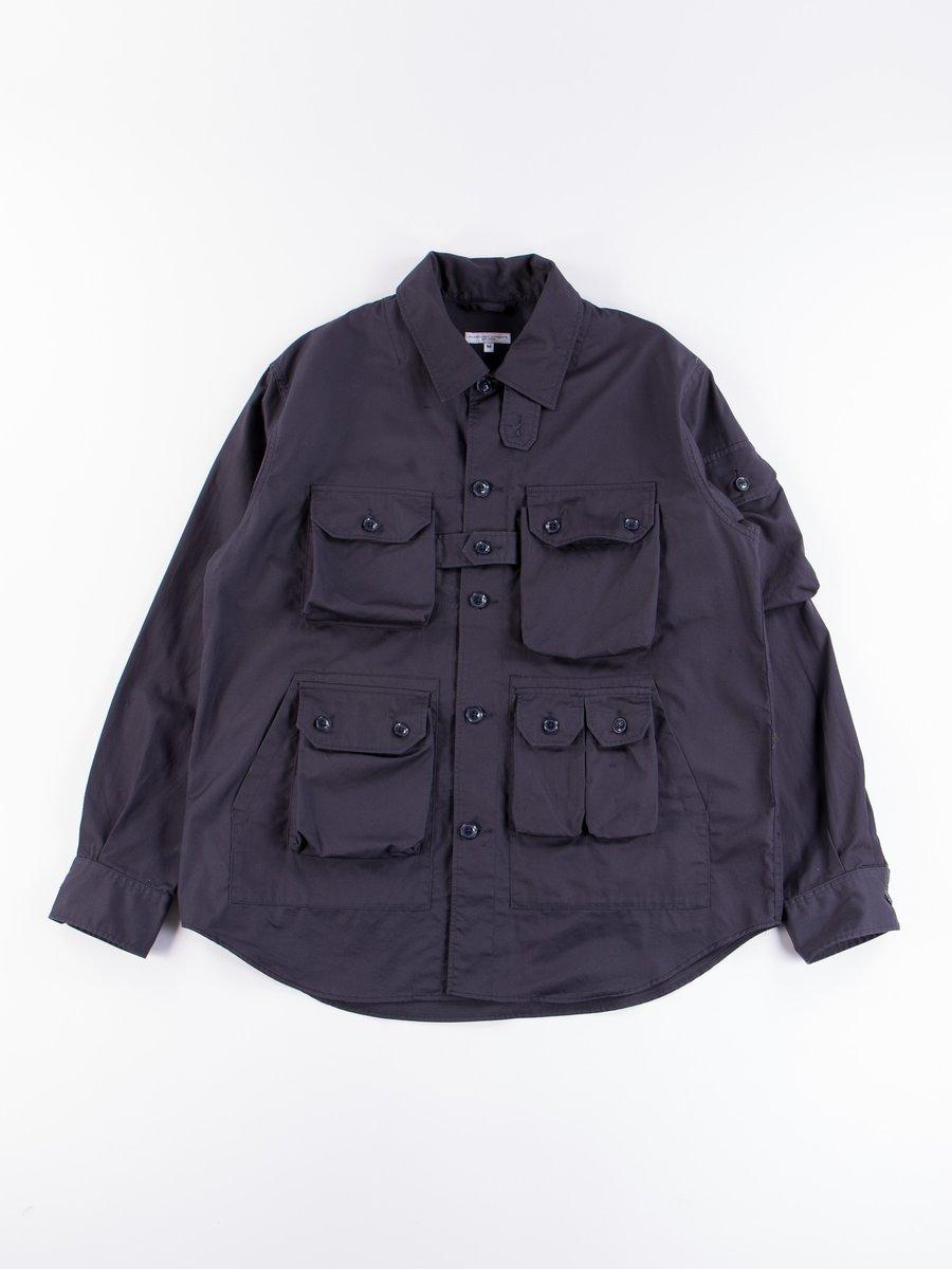 Dark Navy Highcount Twill Explorer Shirt Jacket