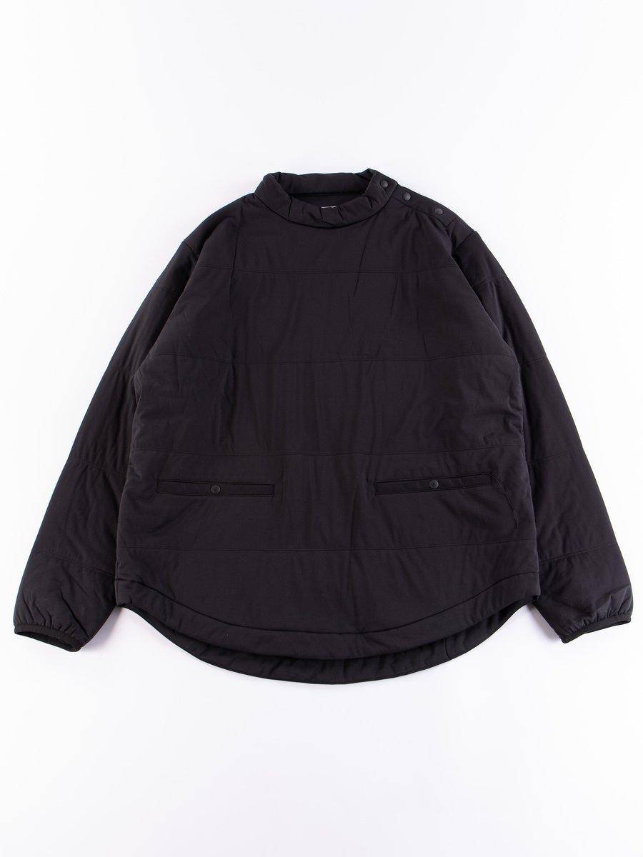 Black Flexible Insulated Tunic Pullover