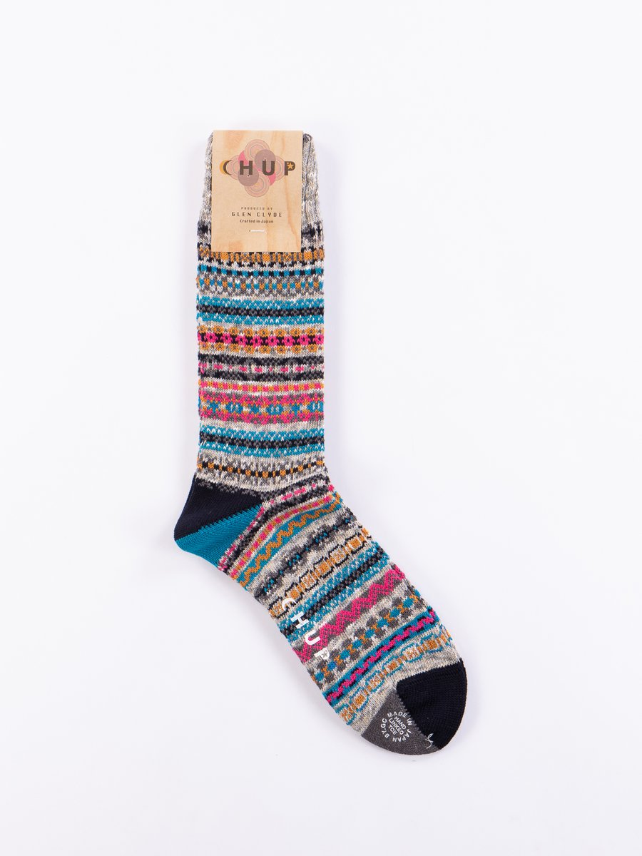Azure Fjord Socks