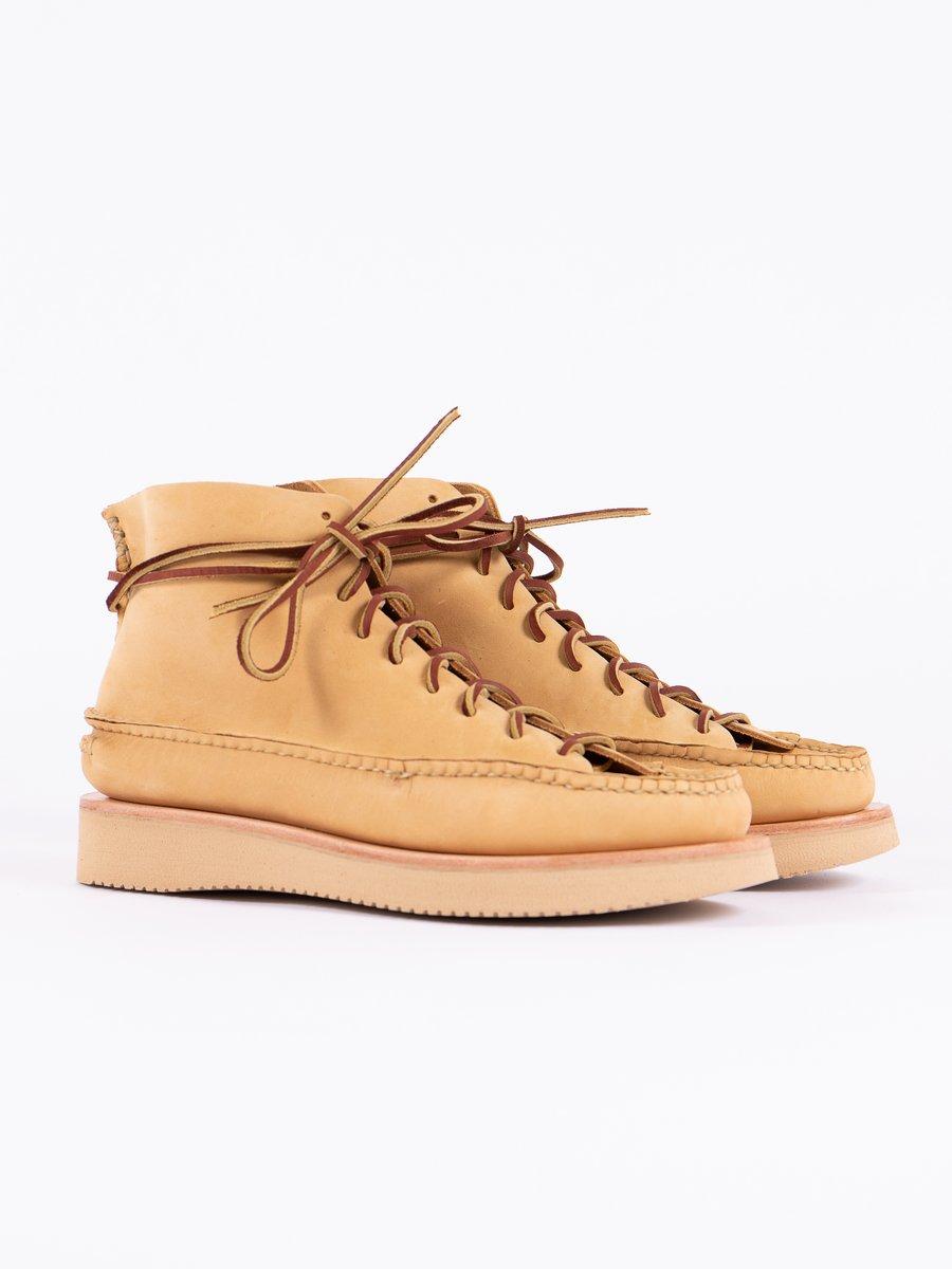 DB Brown All Handsewn Sneaker Moc High Boot Exclusive