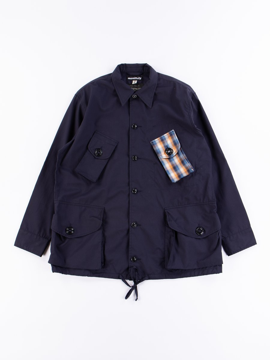 Navy Vancloth Oxford Military Half Coat Type B Exclusive