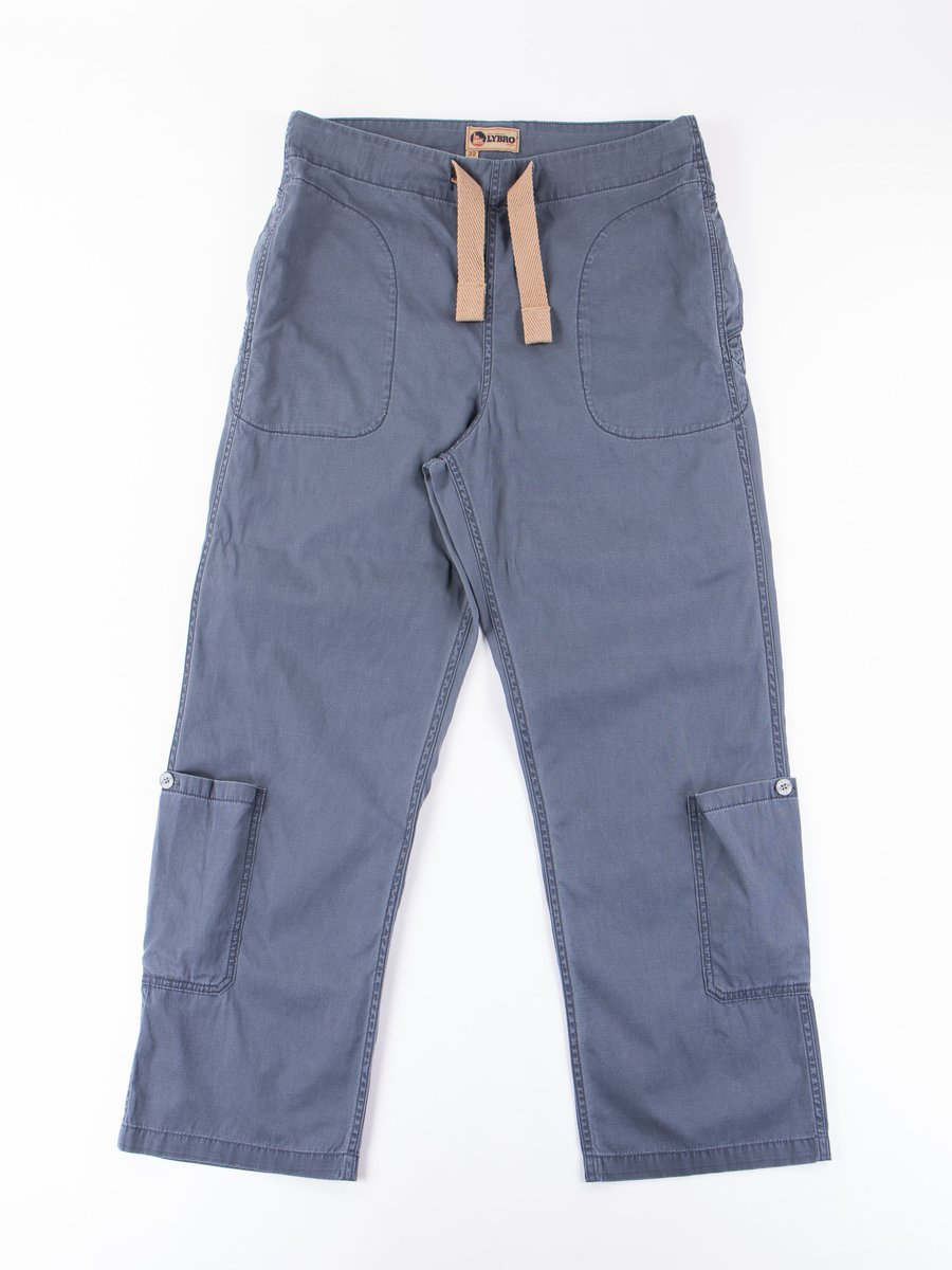Lybro Washed Blue Ground Pant