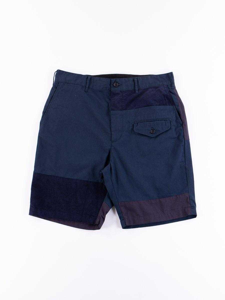 Navy 6.5oz Flat Twill Ghurka Short