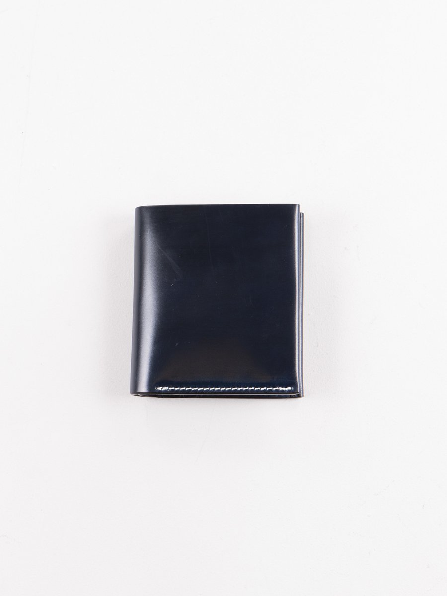 Navy Horween Cordovan 3–3 Wallet