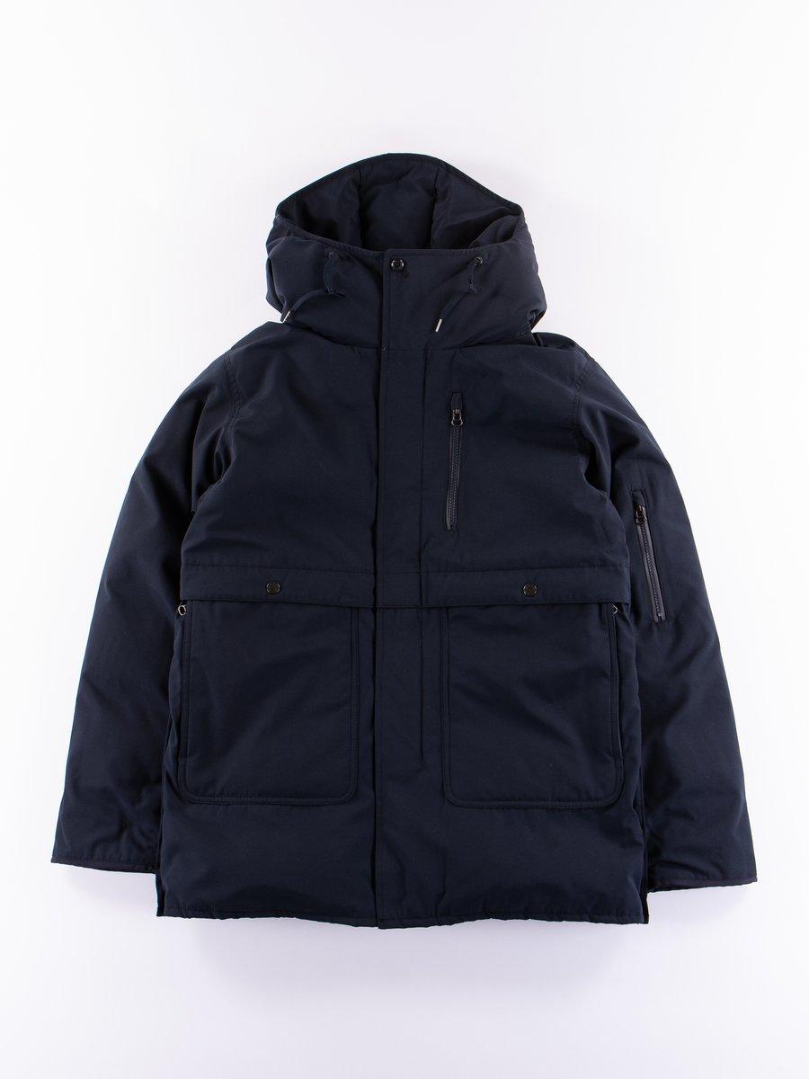 Navy Down Coat