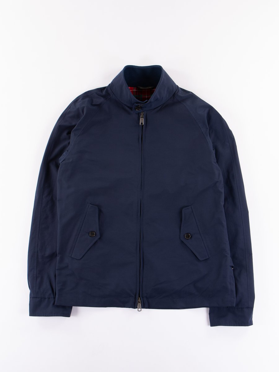 Navy G4 Daiki Harrington Jacket
