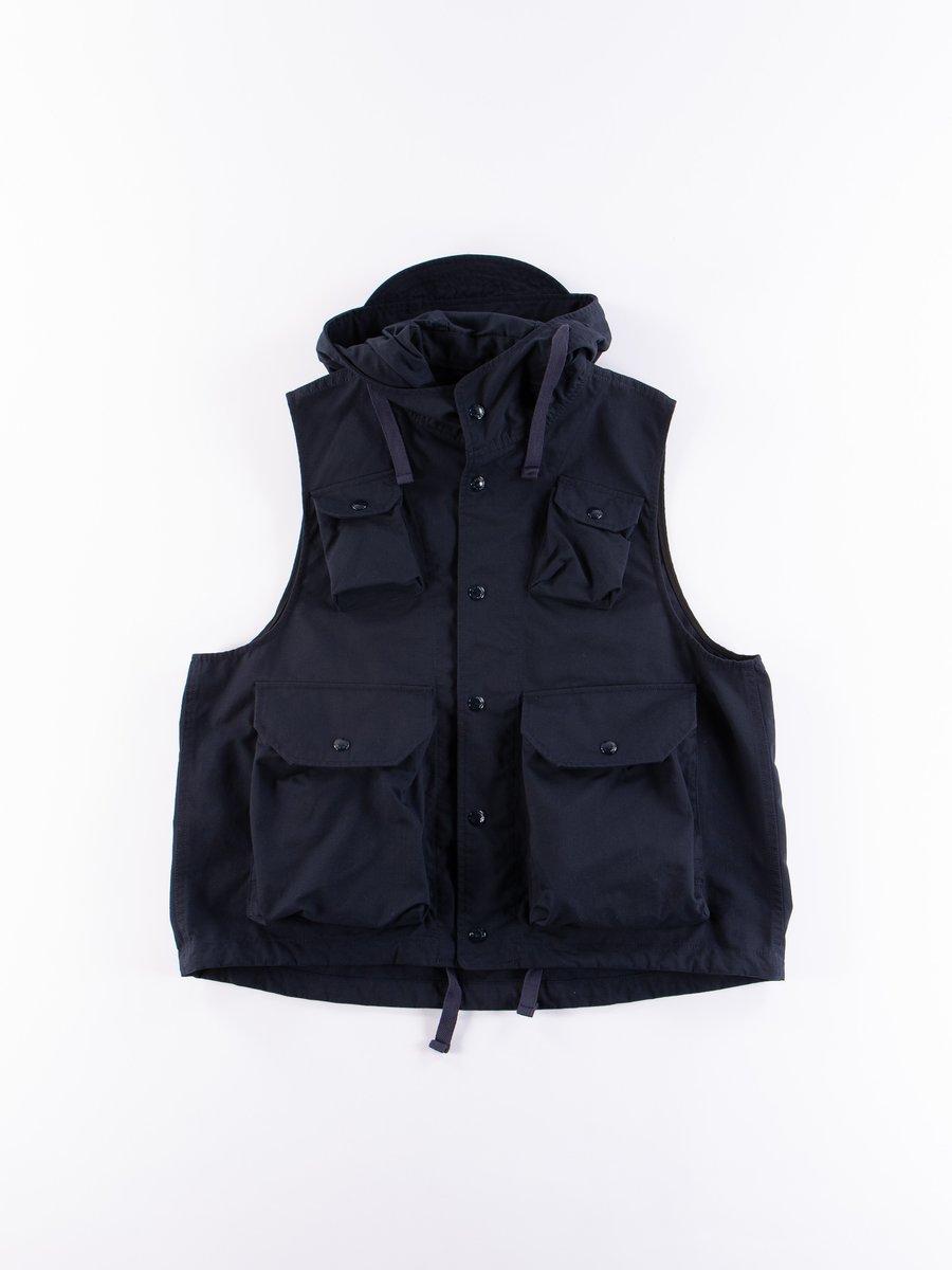 Dark Navy Nyco Ripstop Field Vest