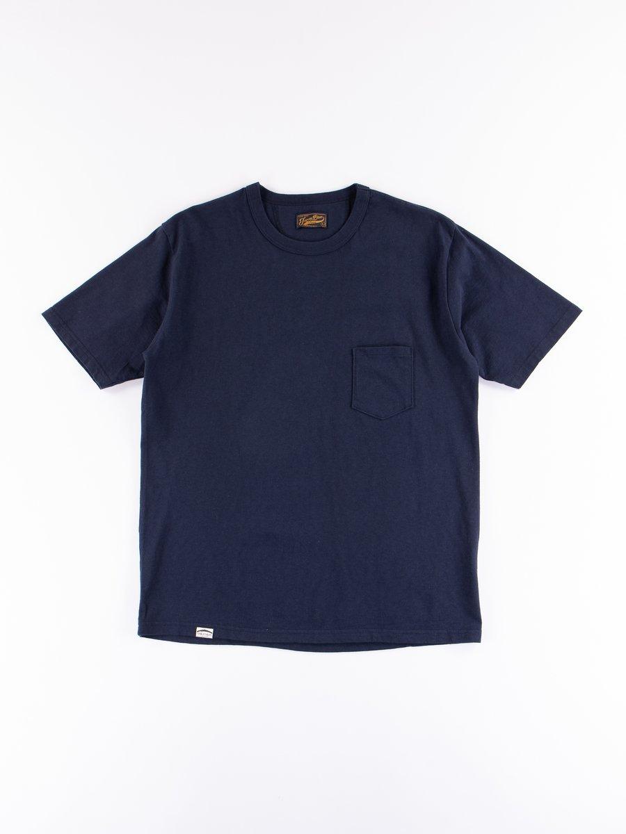 Navy Cote D'Ivoire Cotton T–Shirt