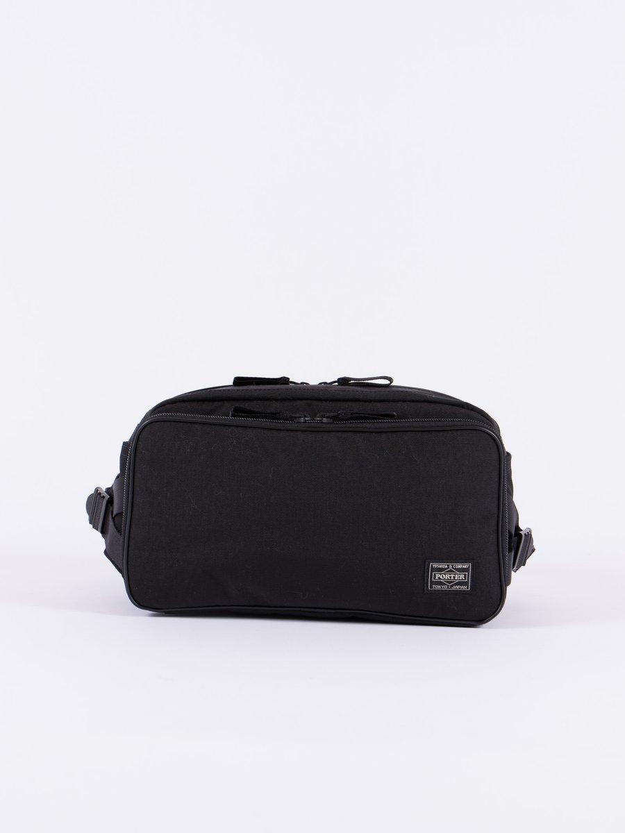 Black Hybrid Waist Bag