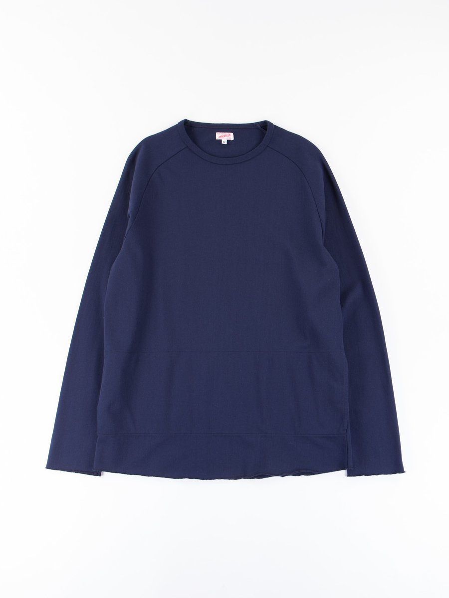 Navy Zef Rachel Knit Shirt