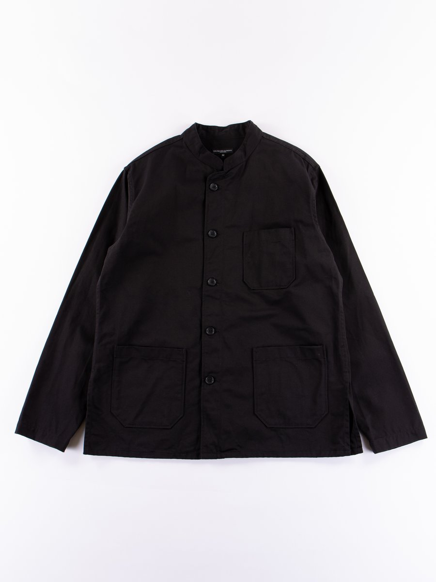 Black Chino Twill Dayton Shirt