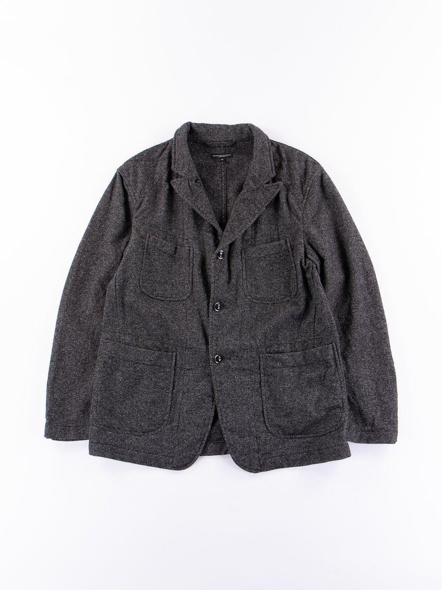 Grey Wool Homespun Bedford Jacket