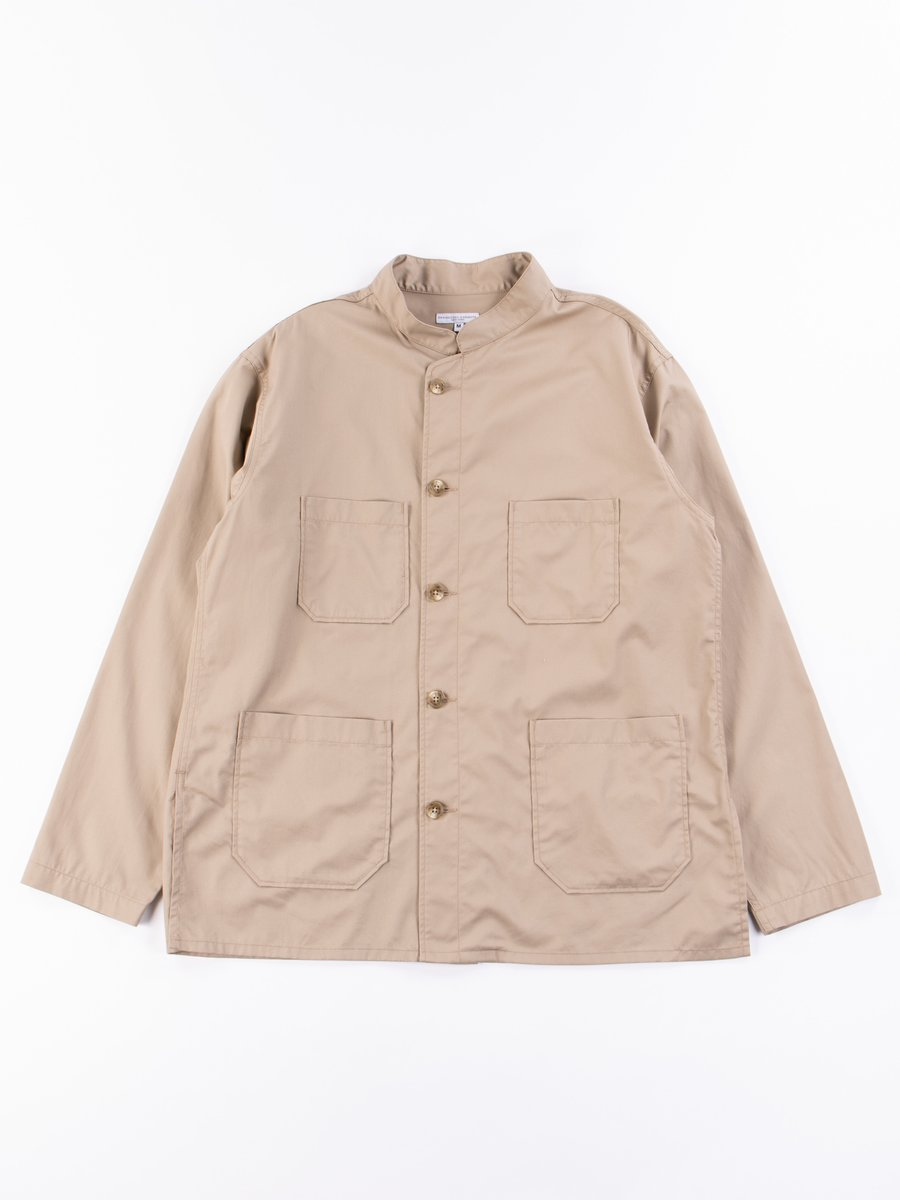 Khaki Highcount Twill Dayton Shirt