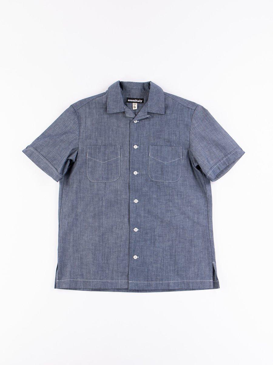 Blue Chambray Vacation Shirt