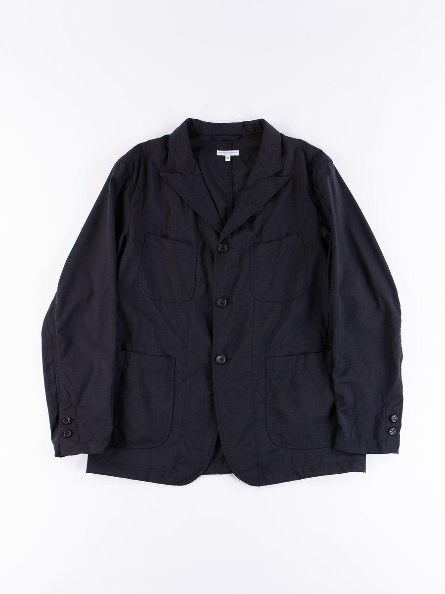 Dark Navy Tropical Wool NB Jacket