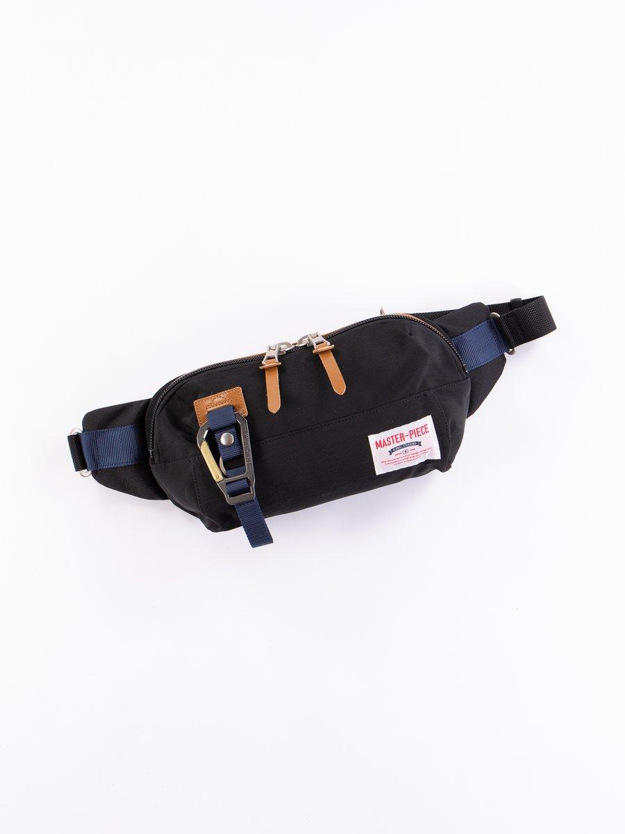 Black 02346 Link Waist Bag