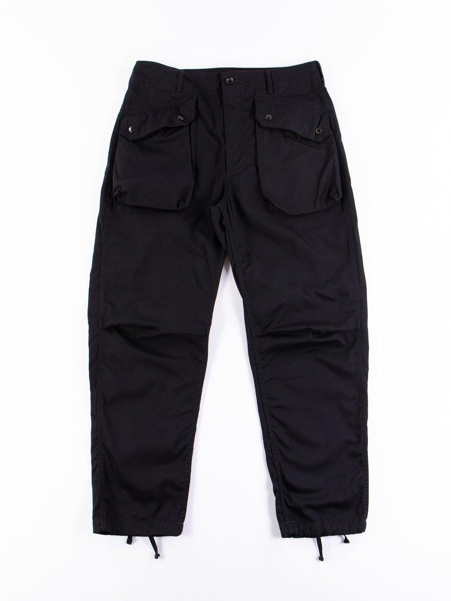 Black 6.5oz Flat Twill Norwegian Pant