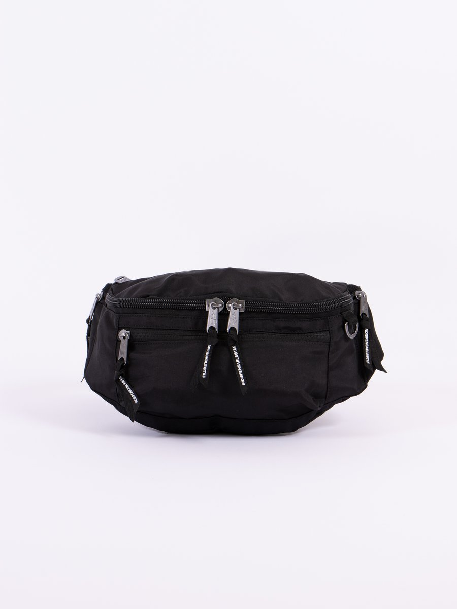 Black Attach Waist Bag