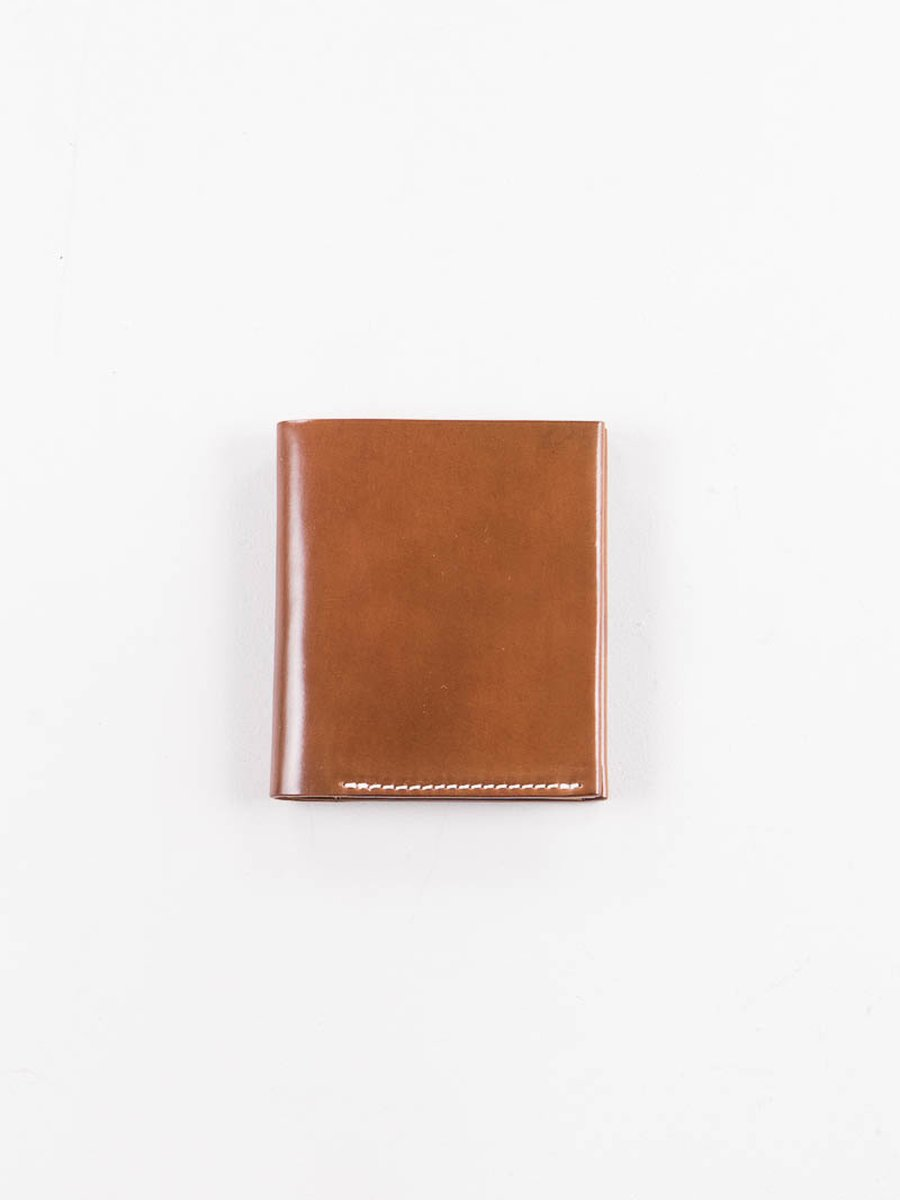 Whiskey Horween Cordovan 2–2 Wallet