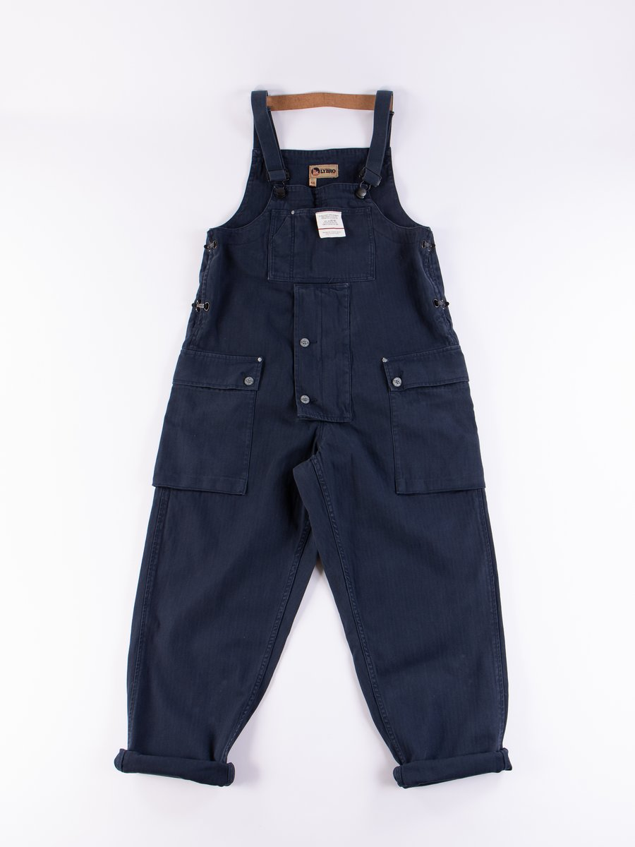 Lybro Black Navy Naval Dungaree