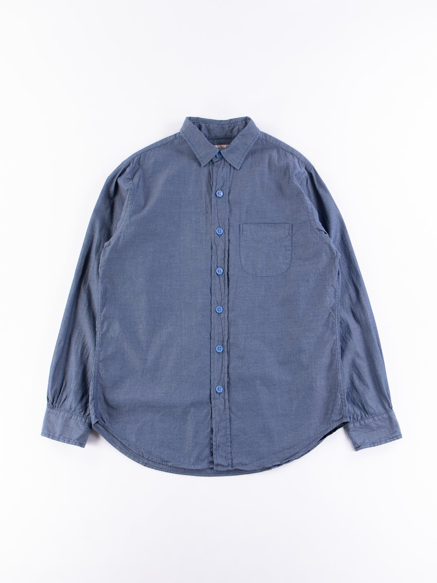 Navy Oxford Easy Shirt