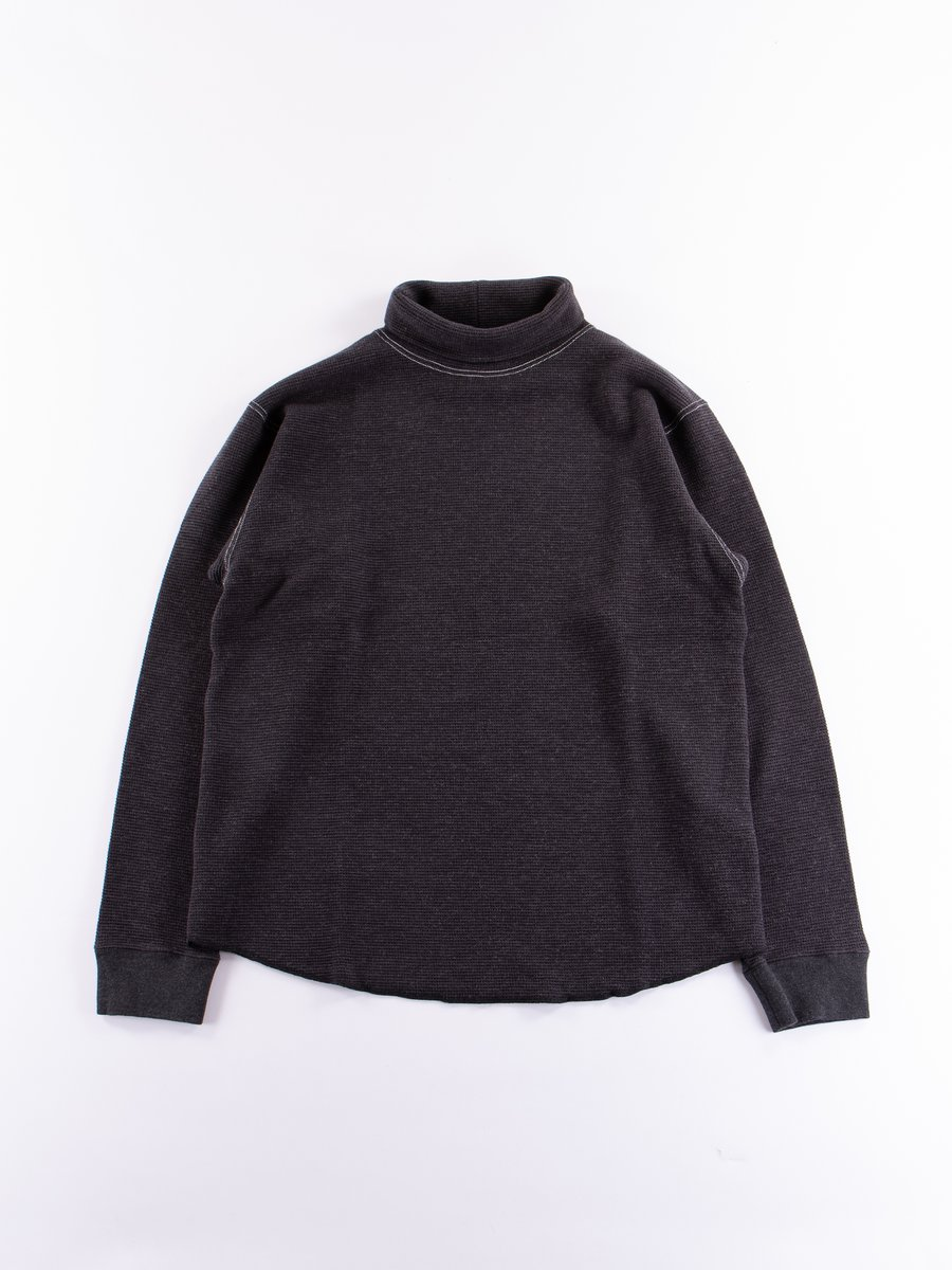 Charcoal Turtle Neck Shirt