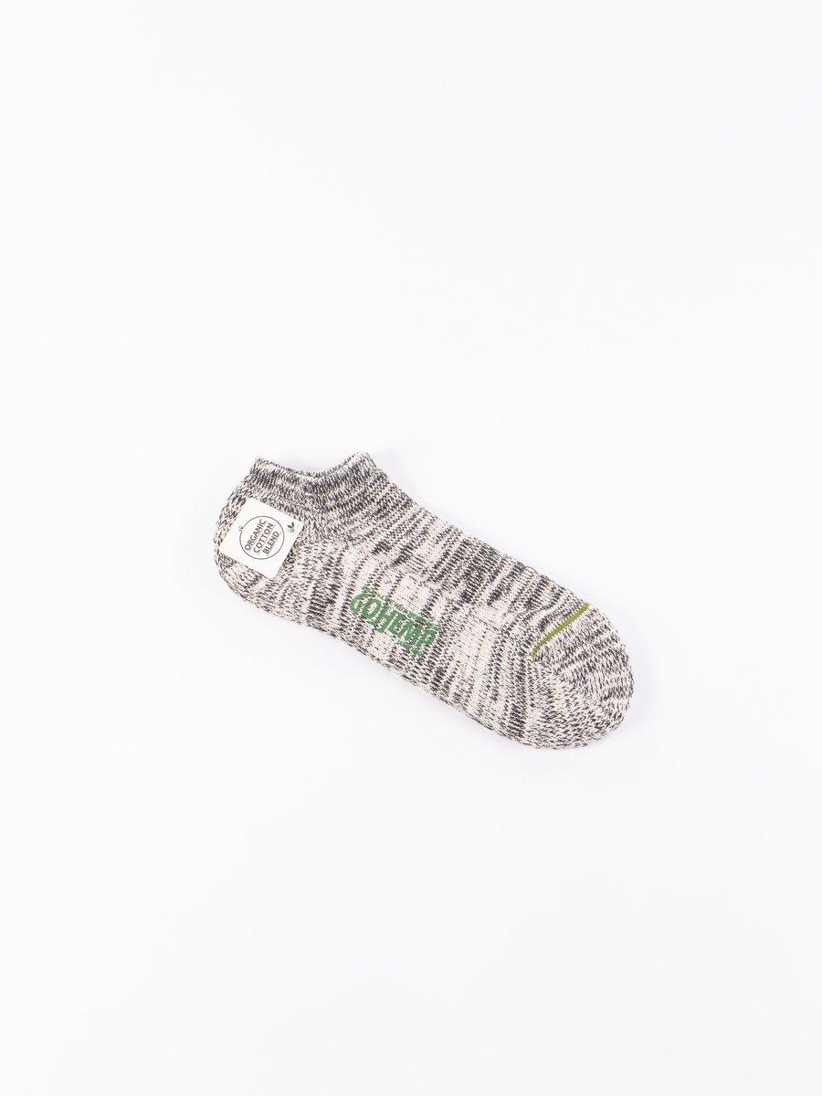 Black Go Hemp OC Pile Ankle Socks