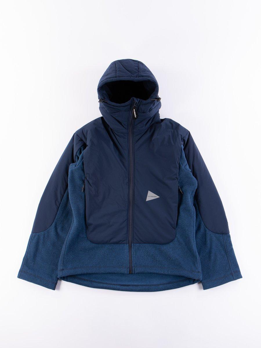 Navy Top Fleece Jacket