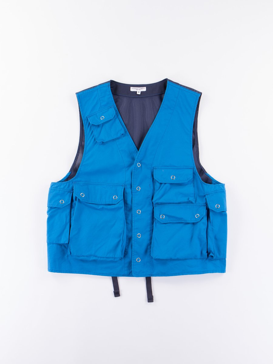 Bright Blue Malibu Poplin C–1 Vest