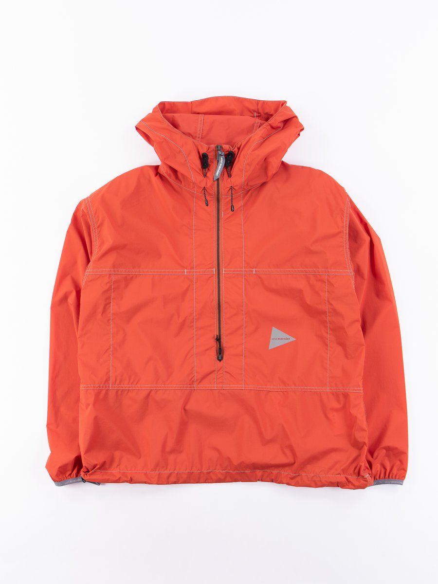 Orange Pertex Wind Jacket