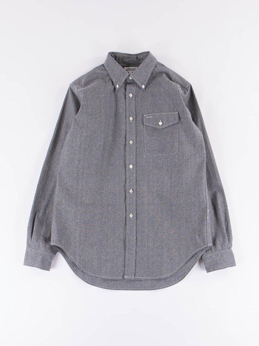 Indigo Heavy Cotton Chambray BD Shirt