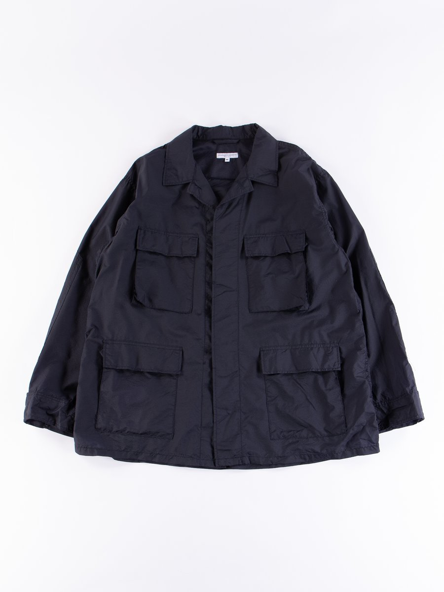Dark Navy Nylon Micro Ripstop BDU Jacket