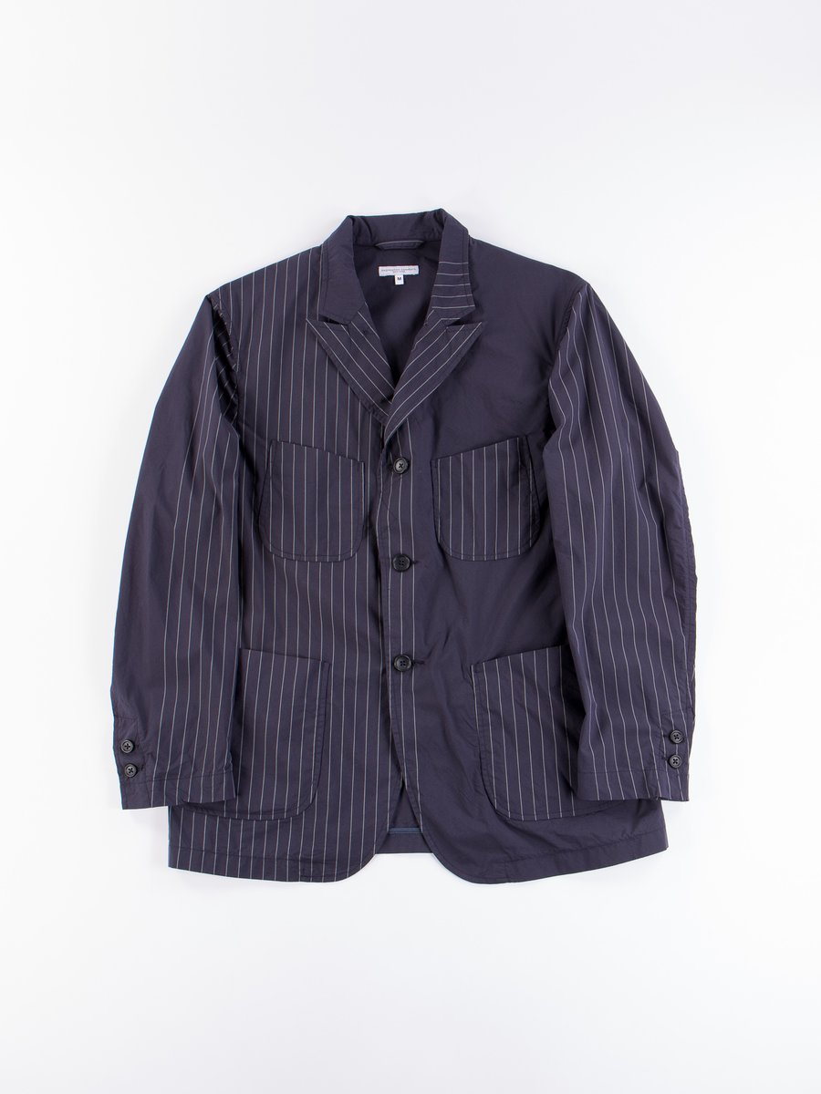 Dark Navy Nyco Gangster Stripe NB Jacket