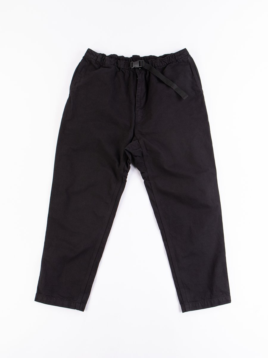 Black Overdyed Canvas TBB Climbing Pant