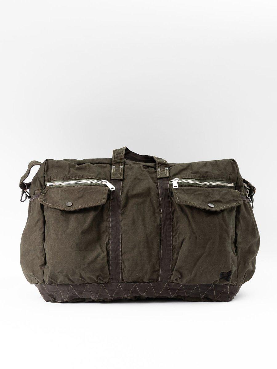 Crag 2Way Boston Bag Large Khaki