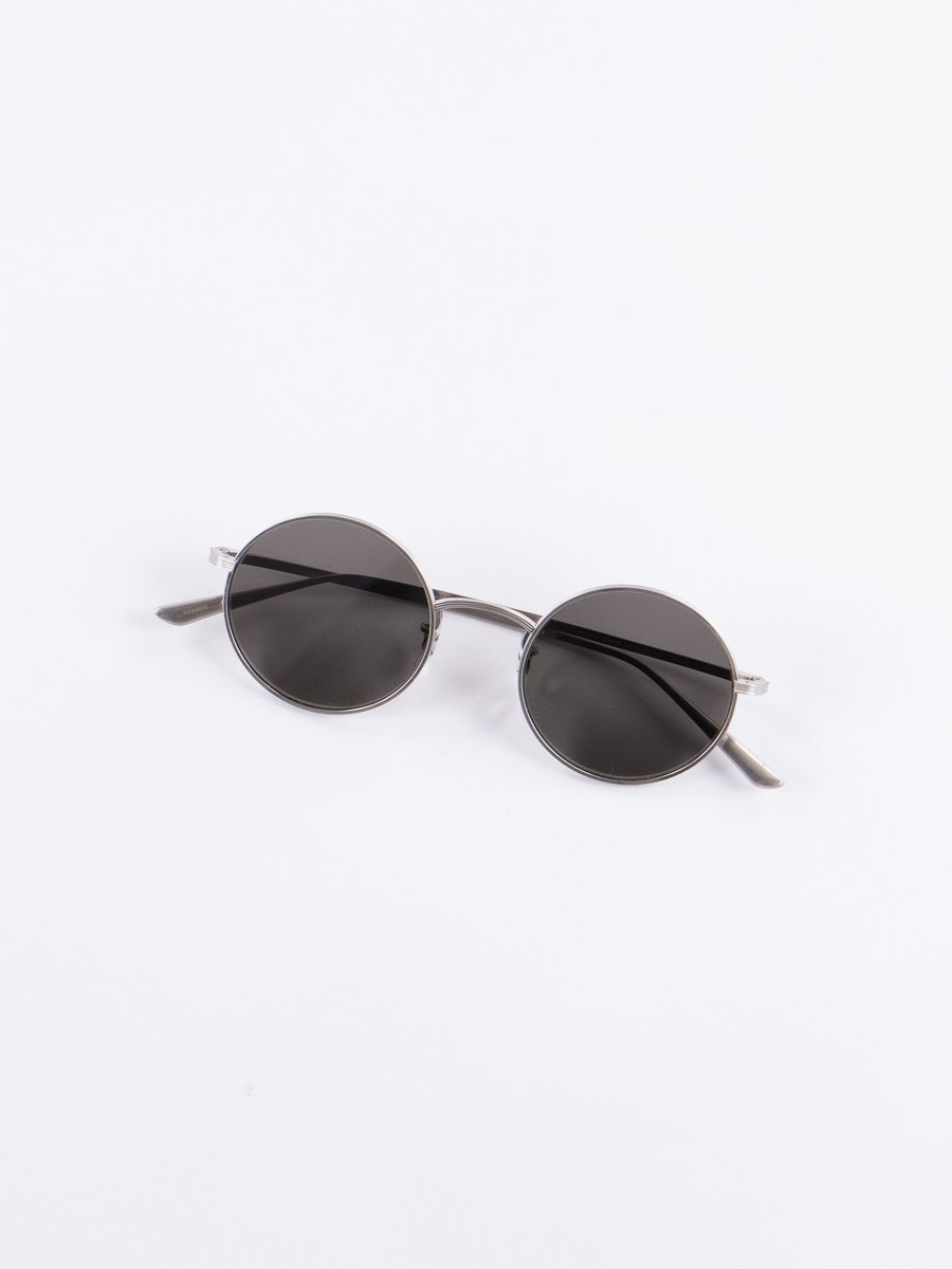 Brushed Silver/Grey After Midnight Sunglasses