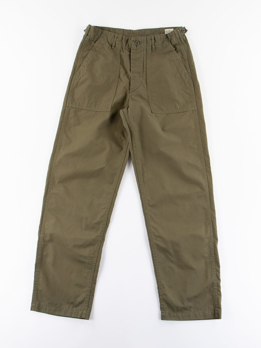 Army Green Ripstop Regular Fit US Army Fatigue Pant