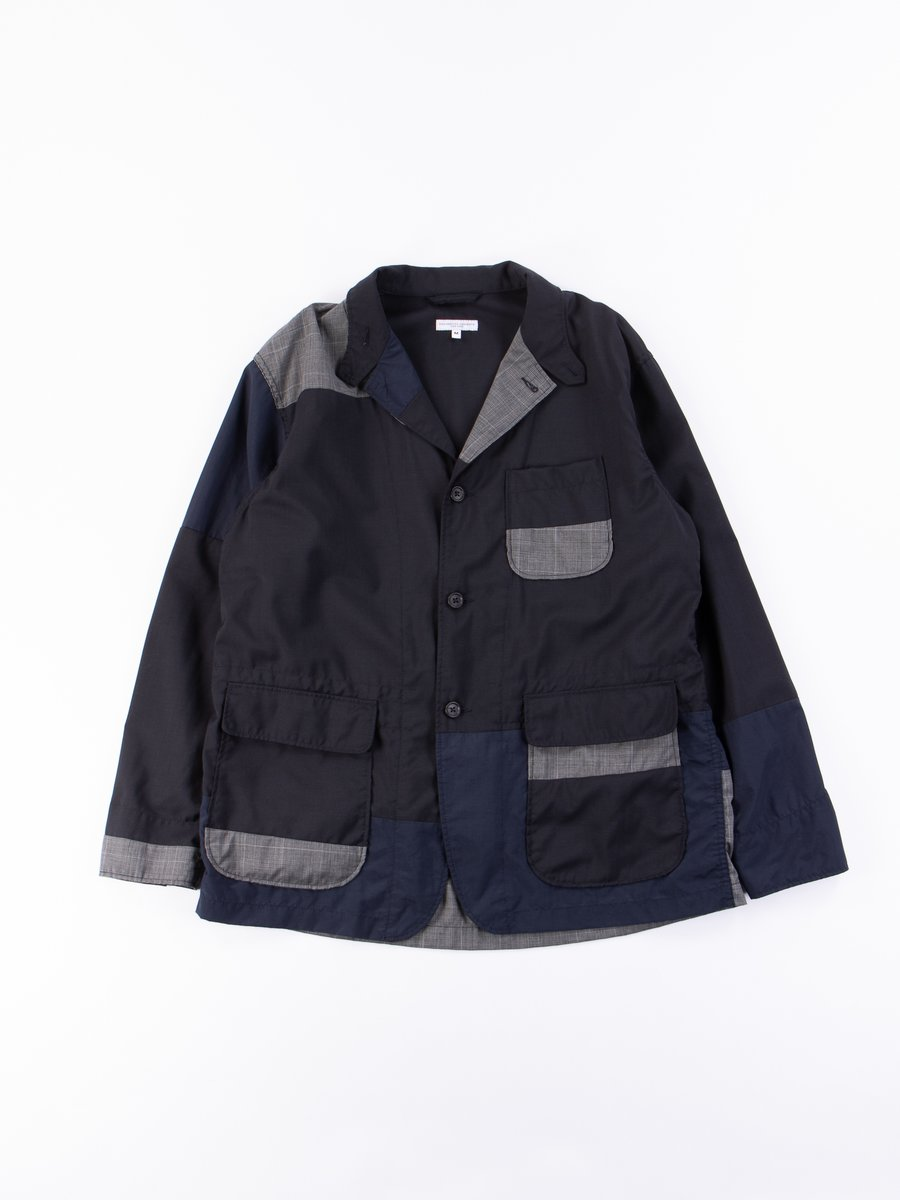 Dark Navy Tropical Wool Loiter Jacket