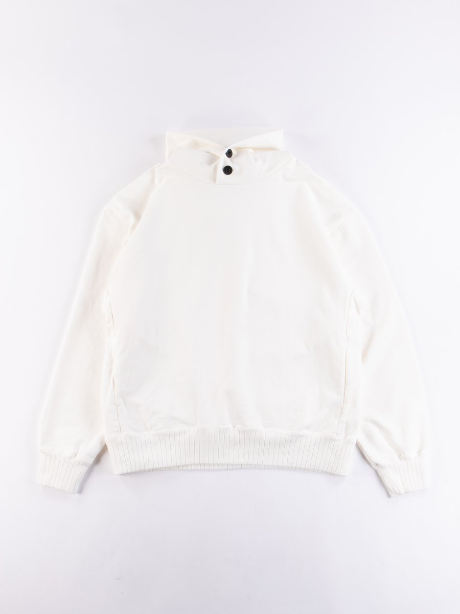 Off White High Density Sweat Pullover Parka
